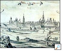 1735 - Jihovýchodní panorama města
