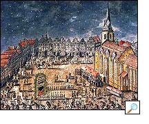 1790 - Uvítání plukovníka Wolfa