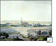 1814 - Jižní panorama města
