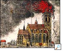 1835 - Požár katedrály