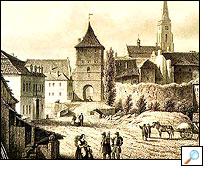 1843 - Saská brána