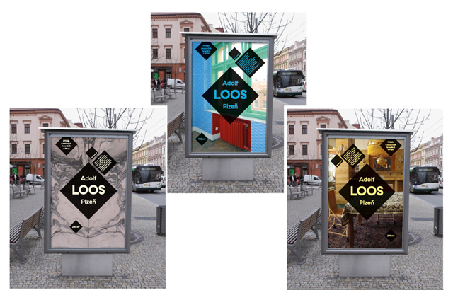 Zrekonstruované Loosovy interiéry vPlzni - vizuální styl Adolf Loos Plzeň