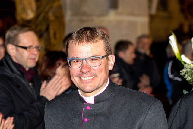 Nový biskup Tomáš Holub