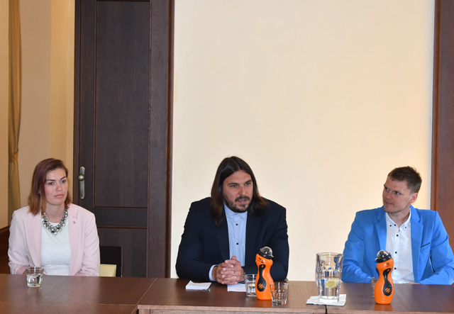 Tisková konference ke sportovním akcím vPlzni