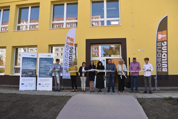 Otevření nové nástavby (fotografie: A. Jarošová)