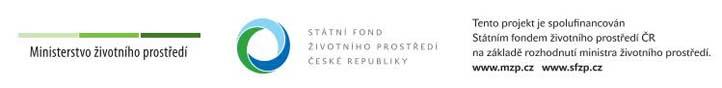 Banner Státního fondu životního prostředí ČR