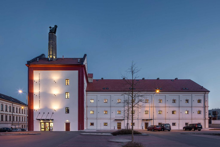 Kulturní centrum – Pivovar Domažlice (zdroj: www.stavbarokupk.cz)